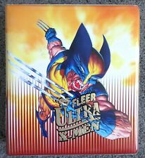 1995 FLEER ULTRA X-MEN MASTER SET BINDER ULTRAPRINTS INSERTS CELLS H-X OVERPOWER