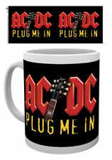AC/DC - Plug me in- mok/tas/mug/tasse - NEW=BOXED