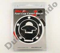 Carbon Fibre look fuel cap cover Cagiva Mito Evo 125 Mk 1 2 SP525 Raptor Planet