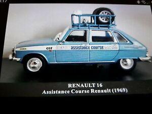 Vehicules d'assistance rallye 1/43 RENAULT 16 ASSISTANCE COURSE RENAULT (1969)