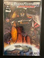 Transformers Armada 3 Star Scream High Grade DW Comic D3-10