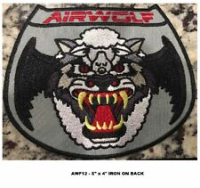 AIRWOLF HELICOPTER PILOT PATCH - SCREEN VERSION - AWF12