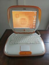 Apple iBook Clamshell G3 Tangerine, WORKING  w/FREE SHIPPING