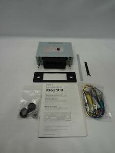 Vintage Sony XR-2100 AM/FM Stereo Cassette Car Radio *New Unused*