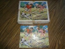 Vintage Victory Jigsaw Puzzle w/box -  about 75 pieces - missing 3 pieces