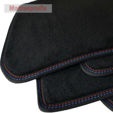 Tappetini professionisti velluto tappetini cucitura doppia per BMW e39 Berlina anno 1995 - 2003