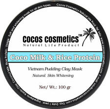 Coco Milk Rice Protein Facial Whitening Mask by Cocos Cosmetics