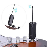 Wireless Audio Transmitter Receiver Set for Electric Guitar Bass Violin