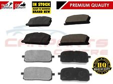 FOR Toyota Starlet 1.3 GT Turbo Glanza V EP82 EP91 Front Rear Brake Pad Pads Set