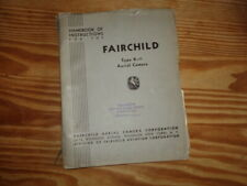 FAIRCHILD type K-11 aerial Camera manual