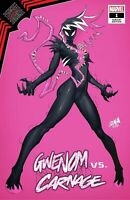 🚨🔥🕸 KING IN BLACK GWENOM VS CARNAGE #1 DAVID NAKAYAMA Trade Dress Variant NM
