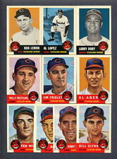 1953 Topps REPRINT 1991 Archives Cleveland Indians TEAM SET