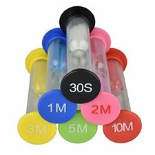 6 Colori Timer a Clessidra, Timer dell'orologio, 30 Secondi / 1 Minuto / (l6t)