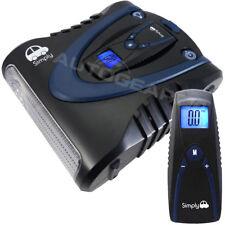 Tyre Inflator Pump Air Compressor With Digital Detachable Pressure Gauge - Sim03