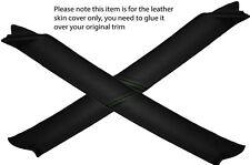 Verde Stitch 2x un post Pilar Cuero Skin Tapa se ajusta Nissan Navara D22 01-04