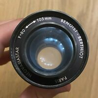 Lentille Lens Objectif ❤️ Projecteur diapo - Benoist BERTHIOT Paris F 80 105mm