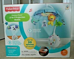Fisher-Price Precious Planet 2-in-1 Projection Mobile N8849 *NEW*