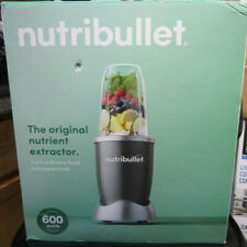 NutriBullet 24 Oz Countertop Blender 8 Piece Set with 600 Watts Motor