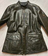 MATCHLESS  Damen  Leder Biker Jacke Silverstone Antique Black Gr. (46) XL