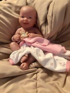 Vintage Berenguer Baby Doll Newborn with Hospital Bracelet Girl La Newborn