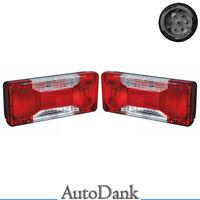 2x Iveco Opel Movano Lichtscheibe Rücklichtglas Rückleuchtenglas Heckleuchte