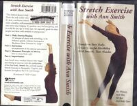 VHS: STRETCH EXERCISE WITH ANN SMITH