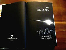 BUZZ ALDRIN APOLLO 11 ASTRONAUT SIGNED AUTO THE RETURN 1ST EDITION BOOK JSA