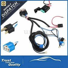 "7"" H4 9003 Headlight Relay Harness Wire Halogen Ceramic Controller Socket Plug"