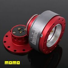 NEW Red MOMO Steering Wheel Hub Quick Release Kit Snap Off Boss Kit MM-NG03