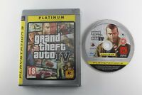 PLAY STATION 3 PS3 GRAND THEFT AUTO IV SIN MANUAL PAL ESPAÑA