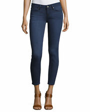 PAIGE PREMIUM DENIM Verdugo Ankle Mid-Rise Skinny Jeans Size 25 NATE 0001