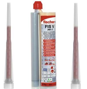 Fischer FIS V 360 S Hochleistungsmörtel Hybridmörtel 2 Mischer  360ml   041834