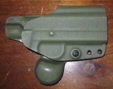 "G-CODE GHE Mark VI security holster Colt 1911 3.5"" w/ FULL RAIL OD green RH OSH"