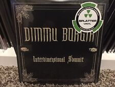 "Dimmu Borgir ‎– Interdimensional Summit - SPLATTER VINYL - 7"" RECORD"