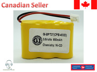 2 Pack Replacement For AT&T 4051 Cordless Phone Battery 3.6V 400mAh Ni-Cd
