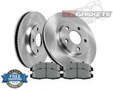Buick Allure Front Brake Rotors Metallic Pads Kit 2005 2006 2007 2008 2009