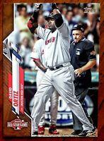 2020 Topps Update David Ortiz GOLD All-Star U-124 serial #'d 1947/2020 Red Sox