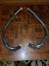 TRIUMPH BSA NORTON BRITISH MOTORCYCLE CHROME EXHAUST DOWN PIPES SET R&L NEW