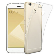 Coque Silicone TPU Clear gel Ultra Fine Transparent Xiaomi Redmi 4X 5.0""