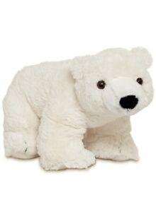 Melissa & Doug Glacier Polar Bear Plush Stuffed Animal Toy White