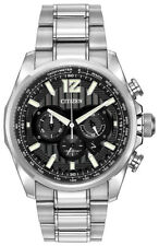 Citizen Eco-Drive Men's Shadowhawk Chronograph Date Window 43mm Watch CA4170-51