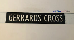 "Gerrards Cross - London Linen Bus Destination Blind 7April 2 31"" Gift"