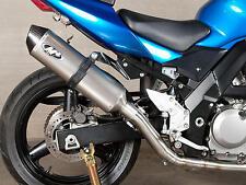 04-10 Suzuki SV650 M4 Race Mount Titanium Full Exhaust System Muffler SU6776