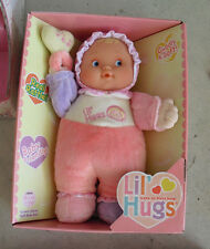 NEW Berenguer Lil Hugs Vinyl Cloth Baby Girl  Doll in Box 11""