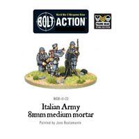Medium Italian Army Mortar Team Miniatures - Warlord Games Bolt Action World