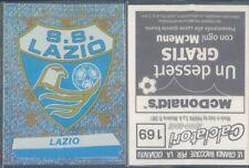 FIGURINA CALCIATORI PANINI 2000/01-SCUDETTO LAZIO-N.169-NUOVA