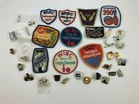 Vintage Bowling Lot 10 Patches 23 Pins Awards 1970's To Now R4