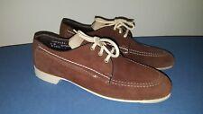 Dexter Brown Suede Women's Shoes size 8