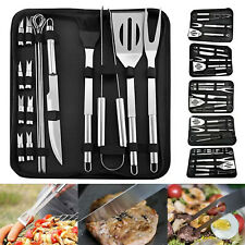 Bbq Tools Set Barbecue Grilling Accessories Utensil Outdoor Camping Cooking Kit