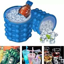 Summer Ice Cube Maker Mold Silicone Ice Bucket Space Saving Ice Cube Tray Tool